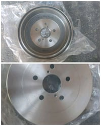 2006 Toyota Sienna Brake Drums