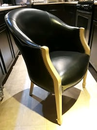 Leather Round Back Chair Las Vegas, 89148