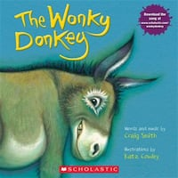 New Scholastic The Wonky Donkey by Craig Smith Paperback Vancouver