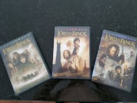 Lord of the Rings trilogy DVD Toronto, M8V