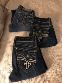 Rock Revival Jeans size 28 (3 pair) Hattiesburg, 39402