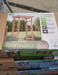 Cedar Arbors, Still in the box or pre-built.