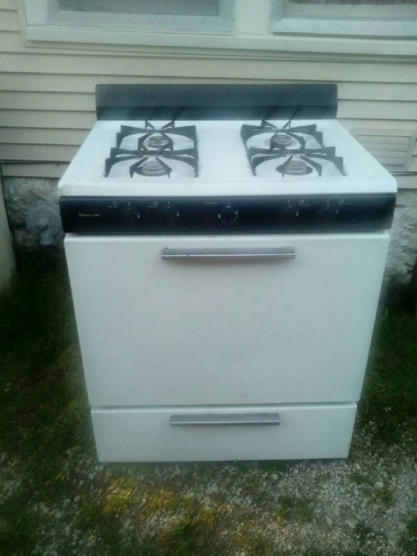 Maytag gas stove in decent condition