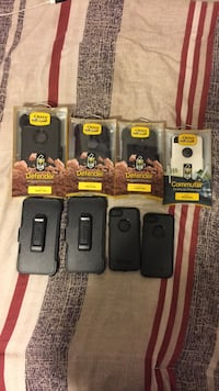Assorted iPhone OtterBox cases Burnaby, V3N 1L1