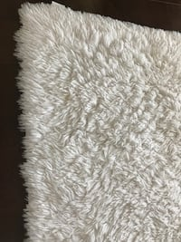 white and gray fur area rug Los Angeles, 91367
