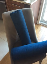 2 new custom made blue pillows 2/30$ Laval, H7X 3M8