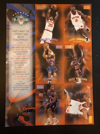 New York Knicks 1998 Skybox card set