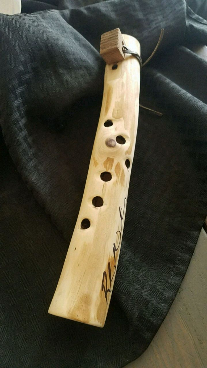 Photo Custom Hand crafted Native American Style flute