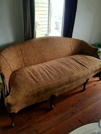 Vintage Sofa . Feather stuffed.  New Orleans, 70119