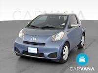 2012 Scion iQ hatchback Hatchback 2D Blue