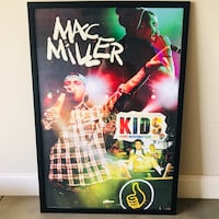 Mac Miller Poster in frame Johnson City, 37615
