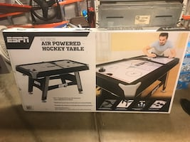"ESPN 60"" Air Powered Hockey Table"