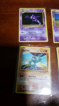 mint condition Pokemon  cards in sleeves  St. Thomas, N5R 2N3
