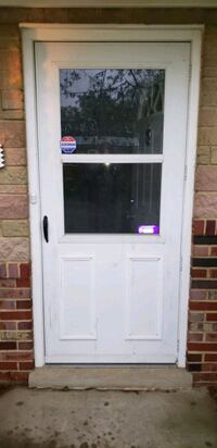 Used Larson 36x80 Storm Door. Just taken down  Clinton, 20735