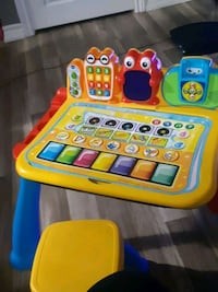 Kids activity table  2 in 1