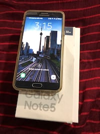 black Samsung Galaxy Android smartphone with box Pickering