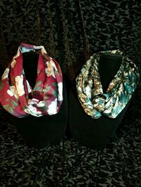 Infinity scarves $20 ea. Or 2 for $35 544 km