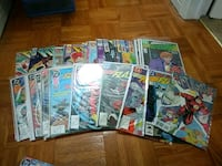 Various DC flash comic lot total of 40  Mississauga, L4X 2V8