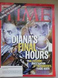 Time Magazine February 16 1998 Diana's Final Hours  Notre-Dame-de-l'Île-Perrot