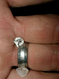 silver and diamond ring in box Las Vegas, 89110
