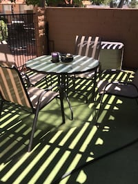 patio table and chairs Las Vegas, 89107