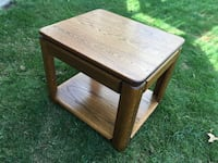 (2)Pair of solid wood end tables....... Surrey, V4N 3E1