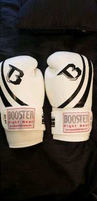 Booster 16oz Leather Hand-Made Boxing Gloves  Acton, L7J 2M1