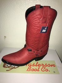 Genuine leather boots NEW