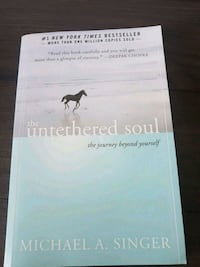 the untethered soul book .. read once  retails for  Surrey, V3S 1R8