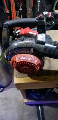 Troy-built 4 stroke gas leaf blower