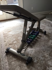 Danskin ladies weight bench adjustable in excellent condition Knoxville, 37923