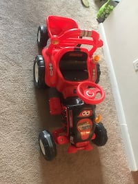 red and black ride-on toy car Germantown, 20874