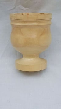 Wooden hand cart cup Olympia, 98501