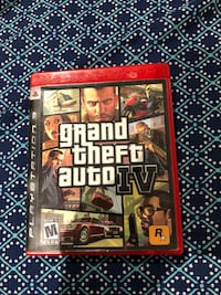 PlayStation 3 Grand Theft Auto 4 IV Game