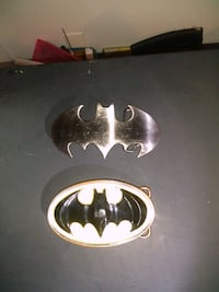 Batman belt buckles very nice.