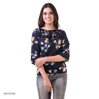 women's black and brown floral dress Kanpur, 208016