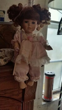 doll in pink dress with hat Springville, 35146