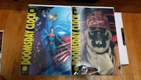 Doomsday clock signed by geoff johns Mississauga, L5A 2R7
