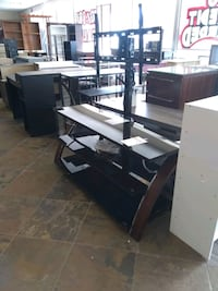 Black glass tv stand different colors available  Phoenix, 85018