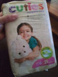 size 6 diapers  Pawtucket, 02860
