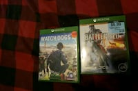 Xbox One Games Watch Dogs 2 and BF4 Westminster, 80031