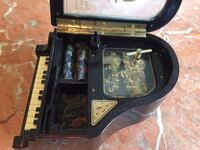 """Small piano jewelry box 5"""" by 4"""" Vancouver, V6H 2L7"""