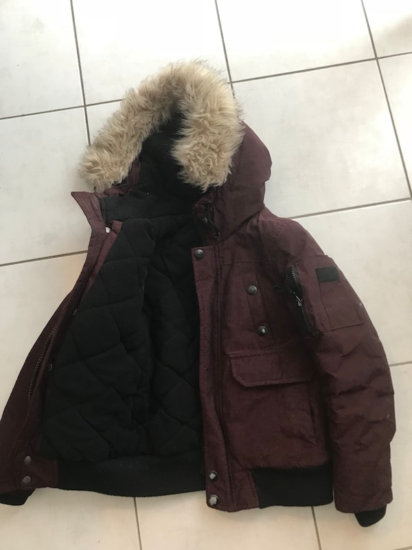 Boys  size 7-8 winter jacket. Extremely warm. Worn only 1 season and barely. Smoke and pet free home.