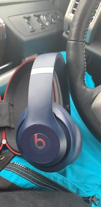 blue and red Beats by Dr Cranbrook, V1C 6S3