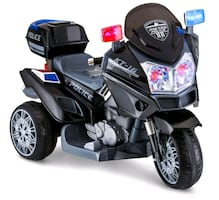 Police ride on powered