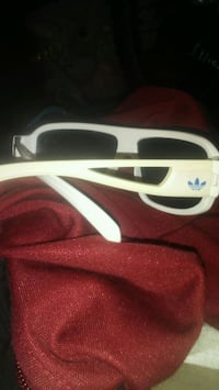 Adidas white and black framed sunglasses Kelowna, V1Y 3H3