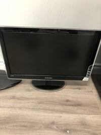 "Black samsung flat screen computer monitor 21"" New Westminster, V3M"