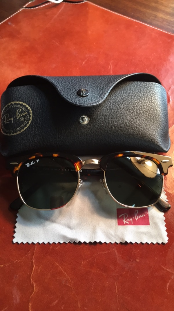 7146fa9d5398 Used RayBan Polarized Clubmaster Sunglasses for sale in Wilmington ...