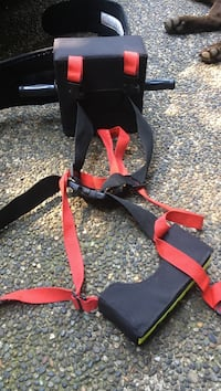 black and red harness Surrey