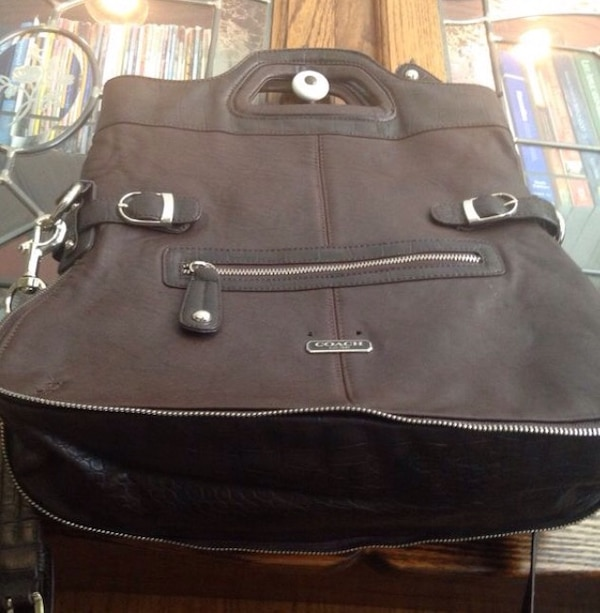 3e33f1f4243 Brukt Large brown Coach tote/laptop bag til salgs i Jackson - letgo